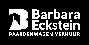 logo barbaraecksteinpaardenwagen white